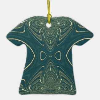 Elegant Ligth Teal Fashion Color Design Christmas Ornament