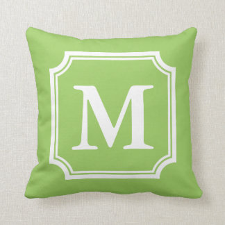 Lemon Green Throw Pillow : Letter G Cushions Gifts - T-Shirts, Art, Posters & Other Gift Ideas Zazzle