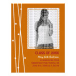 Elegant Lines and Dots Graduation Personalized Invitation