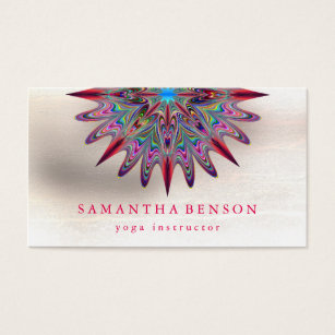 Lotus flower business cards business card printing zazzle uk elegant lotus flower logo yoga business card colourmoves
