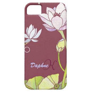 Elegant Lotus Monogram iPhone 5 CaseMate iPhone 5 Cases