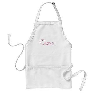 elegant love standard apron