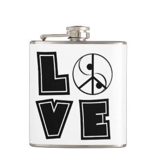 Elegant Love Hip Flask