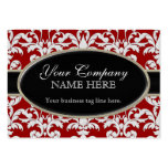 Elegant Luxurious Modern Damask Swirl Floral Style Pack Of Chubby Business Cards