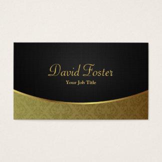 Elegant Luxury Black and Gold Damask