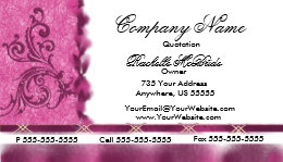 Embroidered business cards business card printing zazzle uk elegant magenta pink embroidery business cards colourmoves Choice Image