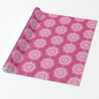 Elegant Mandala Art Wrapping Paper Roll
