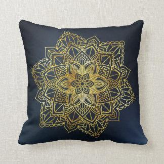elegant mandala floral pattern outdoor cushion