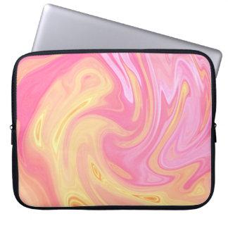Elegant Marble - Peach Laptop Sleeve