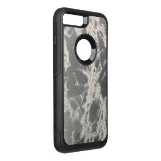 Elegant Marble Stone Black and White Otterbox OtterBox Commuter iPhone 8 Plus/7 Plus Case