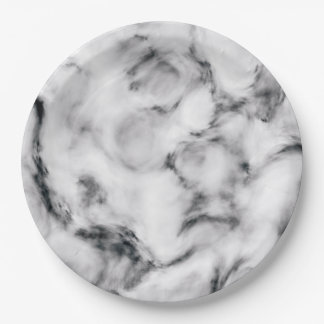 Elegant Marble style2 Paper Plate