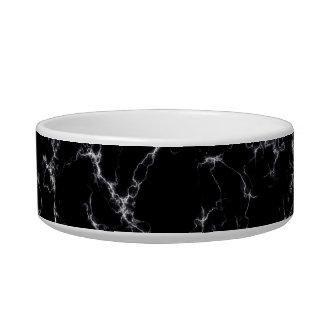 Elegant Marble style4 - Black and White Bowl