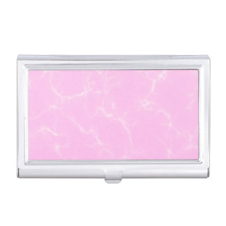 Elegant Marble style5 - Cherry Blossoms Pink Business Card Holder