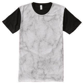 Elegant Marble style All-Over Print T-Shirt