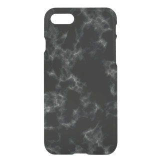 Elegant Marble style - black iPhone 8/7 Case