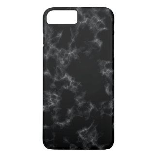 Elegant Marble style - black iPhone 8 Plus/7 Plus Case