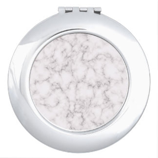 Elegant Marble style Compact Mirror