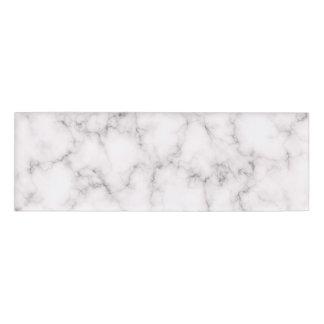 Elegant Marble style Name Tag