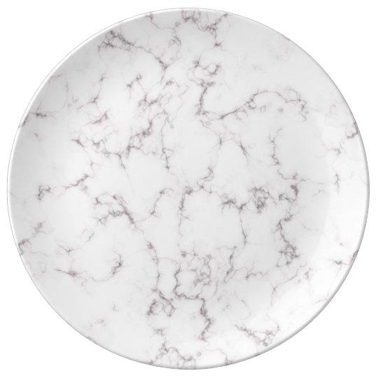 Elegant Marble style Plate