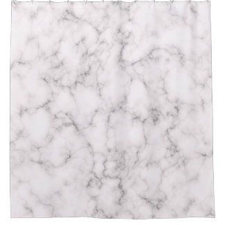 Elegant Marble style - shower curtain
