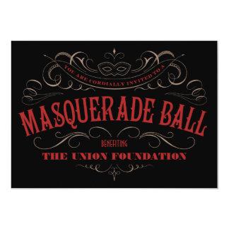 Elegant Masquerade Ball Invitations