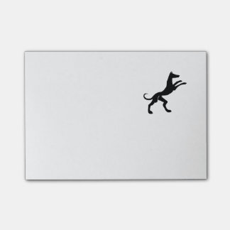 Elegant Medieval Hound Dog Post-it Notes