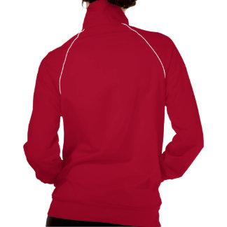 Elegant Medieval Hound Dog Track Jacket