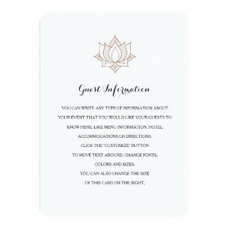Elegant Mehndi Insert Cards