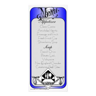 Elegant Menu Card Color 13 Rack Cards