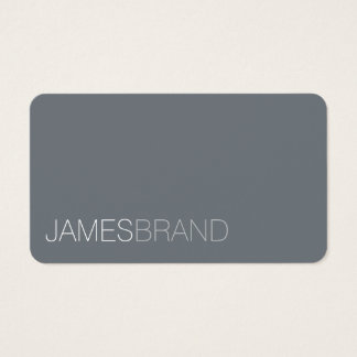 Elegant Minimalist Business Card