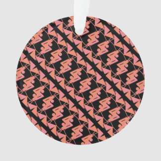 Elegant Mirrored Geometric & Abstract Pattern Ornament
