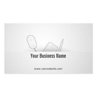 Elegant Mobile Apps Developer Business Card