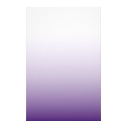 elegant modern chic girly fashion ombre purple stationery