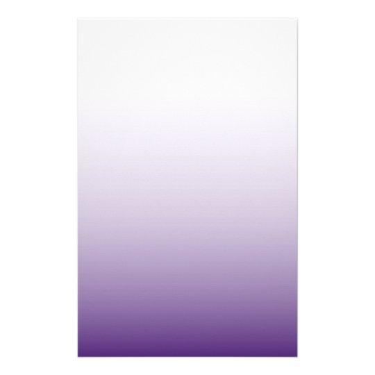elegant modern chic girly fashion ombre purple stationery
