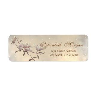 Elegant Modern Chic  Magnolia  Address