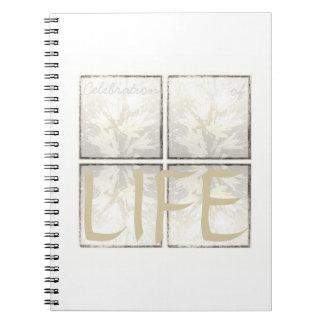 Elegant Modern Funeral Guest Book Celebration Life
