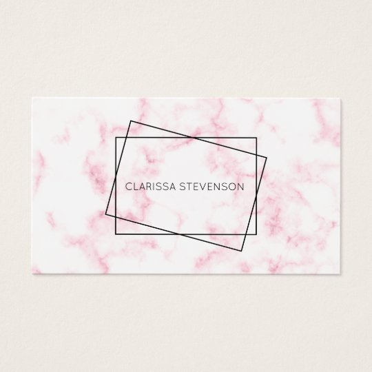 elegant modern pastel pink and white faux marble