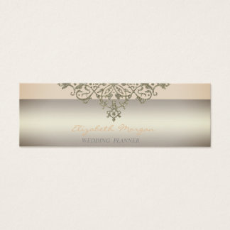 Elegant  Modern Professional Charming,Lace Mini Business Card