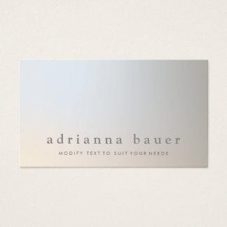 Elegant Modern Professional Luminous Taupe Gray Business Card