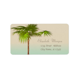 Elegant Modern Stylish,Palm Label