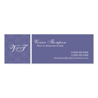 Elegant Mommy Cards Pack Of Skinny Business Cards