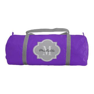 Elegant monogram duffle bag for women and girls