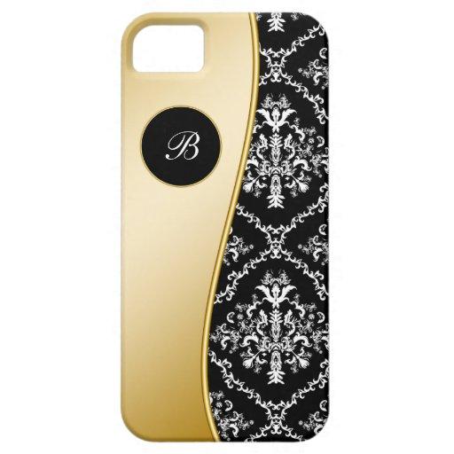 Elegant Monogram iPhone 5 Case