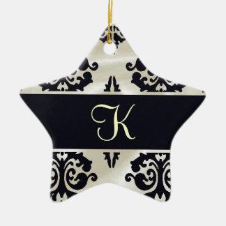 Elegant Monogram Ornament