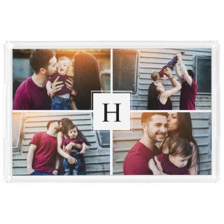 Elegant Monogram Photo Collage