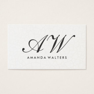 Elegant Monogram Script Contemporary Background