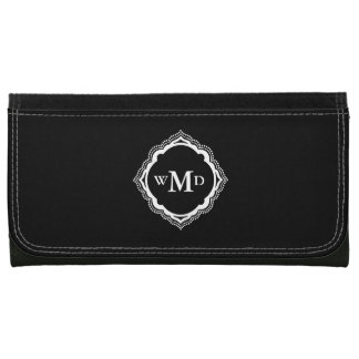 Elegant Monogram Wallet