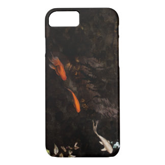Elegant Moody Koi Gold Fish Pond iPhone 7 Case