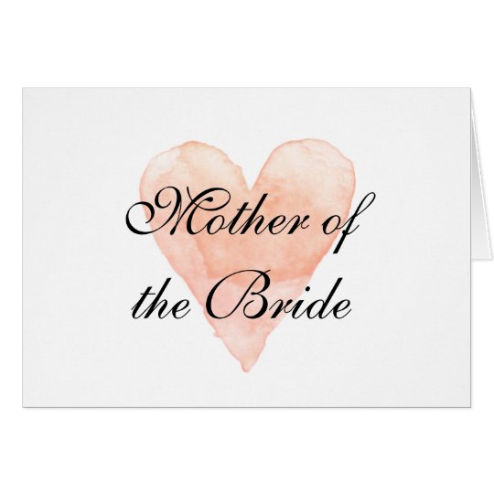 Elegant mother of the bride greeting card zazzle elegant mother of the bride greeting card m4hsunfo