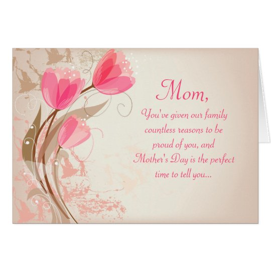 Thank you boss cards invitations for Classy mothers day cards